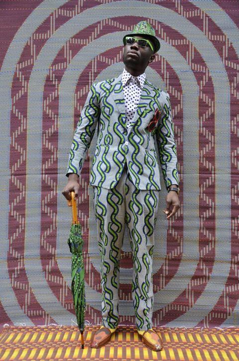 Sapeur Optique The sapeur of congo