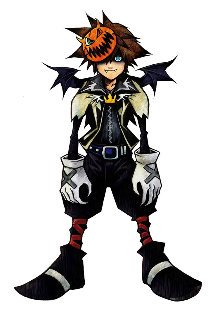 Halloween Town Sora (Tried this one Halloween in early high school, but didn't turn out exactly right...)