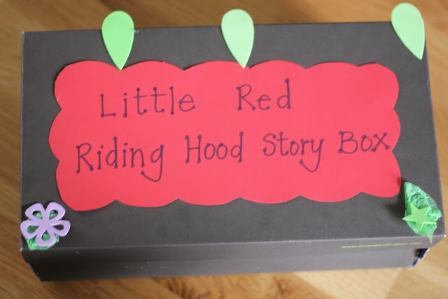 ,: Little Red, Imagination Trees, Kids Crafts, Fractured Fairytales, Stories Boxes, Red Riding Hoods, Hoods Stories, Fairies Tales, Early Literacy