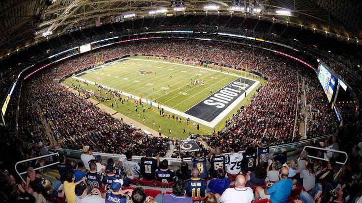 Edward Jones Dome - Panoramic - St Louis Rams