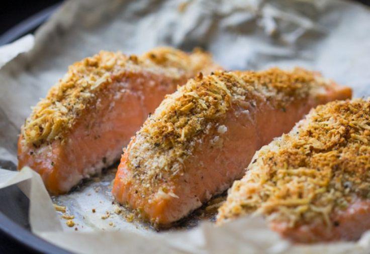 Finger Lime, Macadamia Coconut Crusted Salmon - The Australian Superfood Co