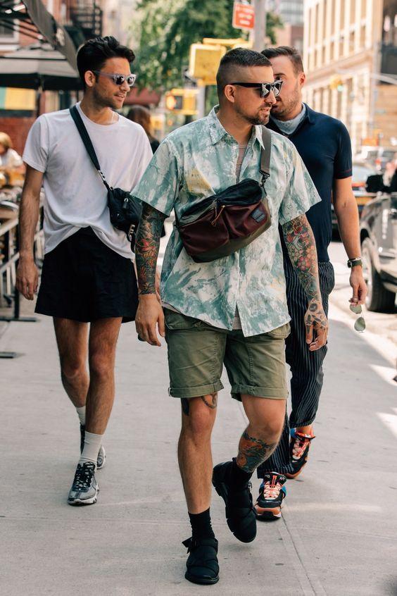 700f17771 Moda Masculina Verão 2019. Macho Moda - Blog de Moda Masculina  Tendências  Masculinas para o VERÃO 2019 - Roupa de Homem