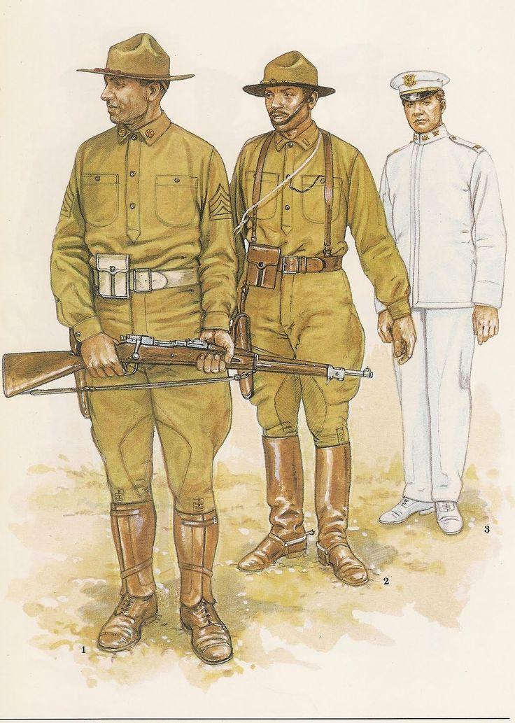 Americans;1.- Battery Quarter master sergeant,1st Battallon, 4th ...