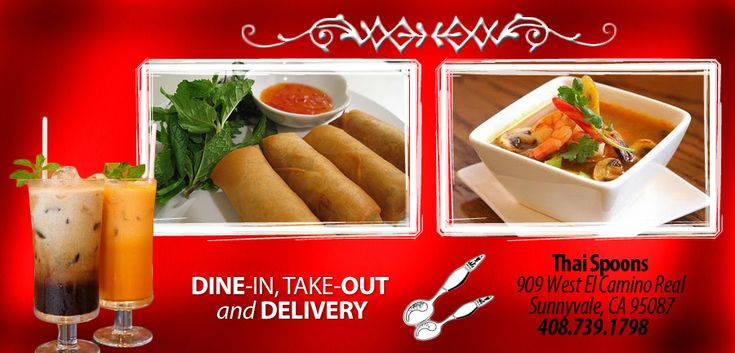 Thai Spoons - Sunnyvale - CA - 94087 - Menu - Thai - Online Food in Sunnyvale
