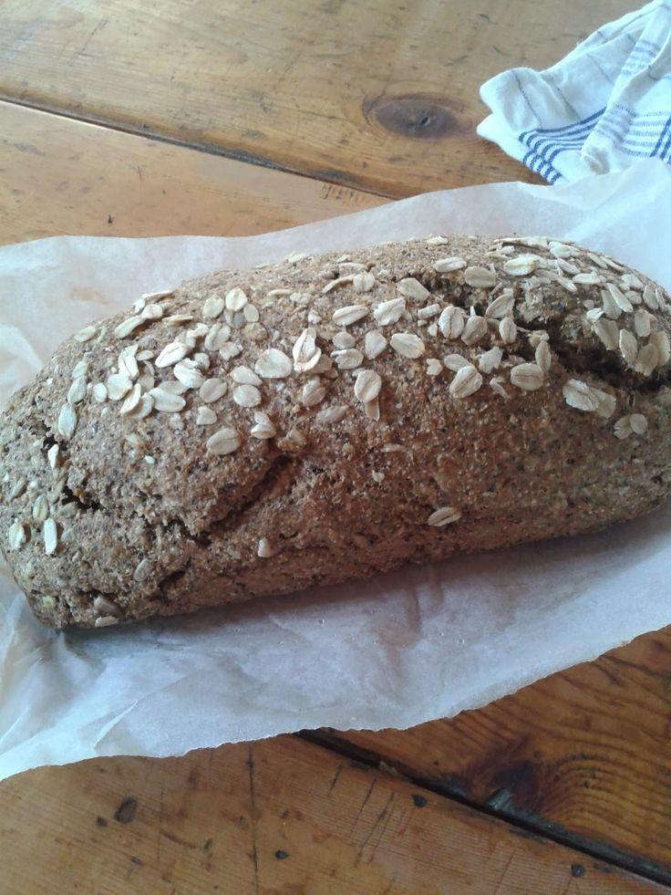 Zabpelyhes kenyér élesztő nélkül