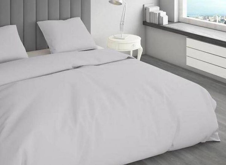 Ambianzz Bedding Heartbeat Grijs Solid