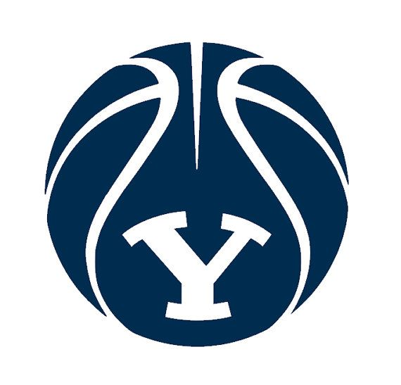 BYU Die-Cut, High-Grade Vinyl Decal (Basketball) via Etsy
