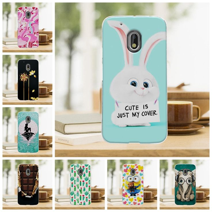 Cute Cartoon Hard Plastic Case Coque For Motorola Moto G4 Plus G 4 Mermaid Back Cover Funda For Motorola Moto G4 5.5'' Case Capa