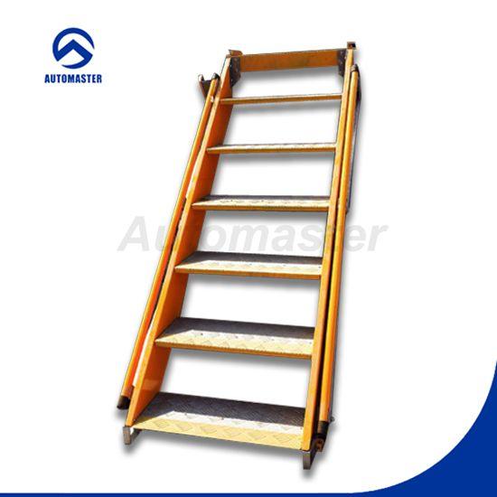 Escalera plegable de aluminio aluminio portable escaleras for Escalera aluminio plegable