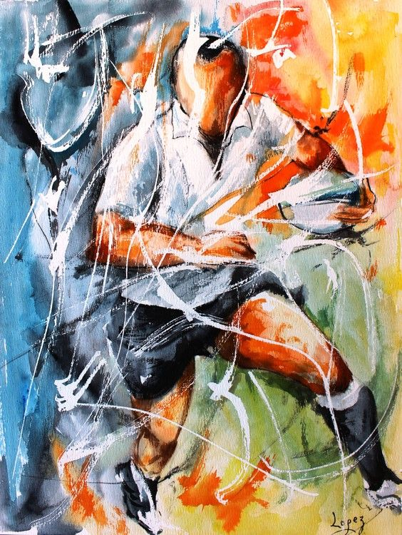 rugby abstract art - Buscar con Google