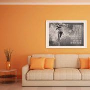 "Tabloul ""Who And What We Really Are Art Print?"" exprima lupta continua pentru eliminarea iluziilor legate de noi insine.  #albnegru #blackandwhite #dinamic #energie #fitness #fotomodel #motivational #tablou, #poster, #tablouri, #tablouricanvas"