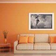 "Tabloul ""Who And What We Really Are Art Print?"" exprima lupta continua pentru eliminarea iluziilor legate de noi insine.  #albnegru #blackandwhite #dinamic #energie #fitness #fotomodel #motivational #tablou, #poster, #tablouri, #tablouricanvas"
