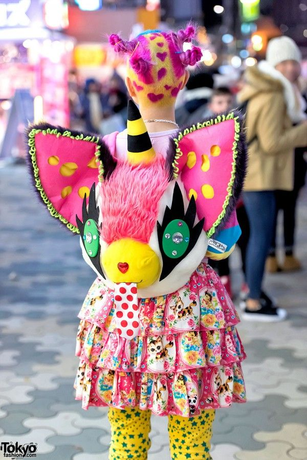 Street Style: the Fashion Overdose on the Streets. Plush Milpom Backpack.