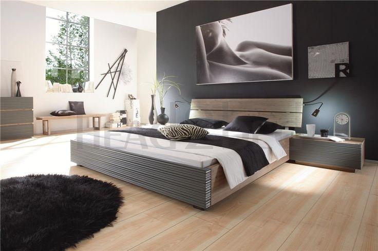 Solid Wood Beds | Hasena Superb Mico Arcada solid acacia bed - Head2Bed UK