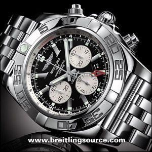 Love wearing a large face men's watch, mine is a Breitling similar to this...