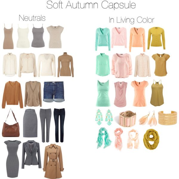 Soft Autumn Capsule by samib2500 on Polyvore featuring Warehouse, H&M, Uniqlo, Vanessa Bruno, Yves Saint Laurent, M&Co, Dorothy Perkins, Angie, Mother and Jane Norman