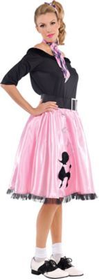 Adult Sock Hop Sweetie 50's Costume