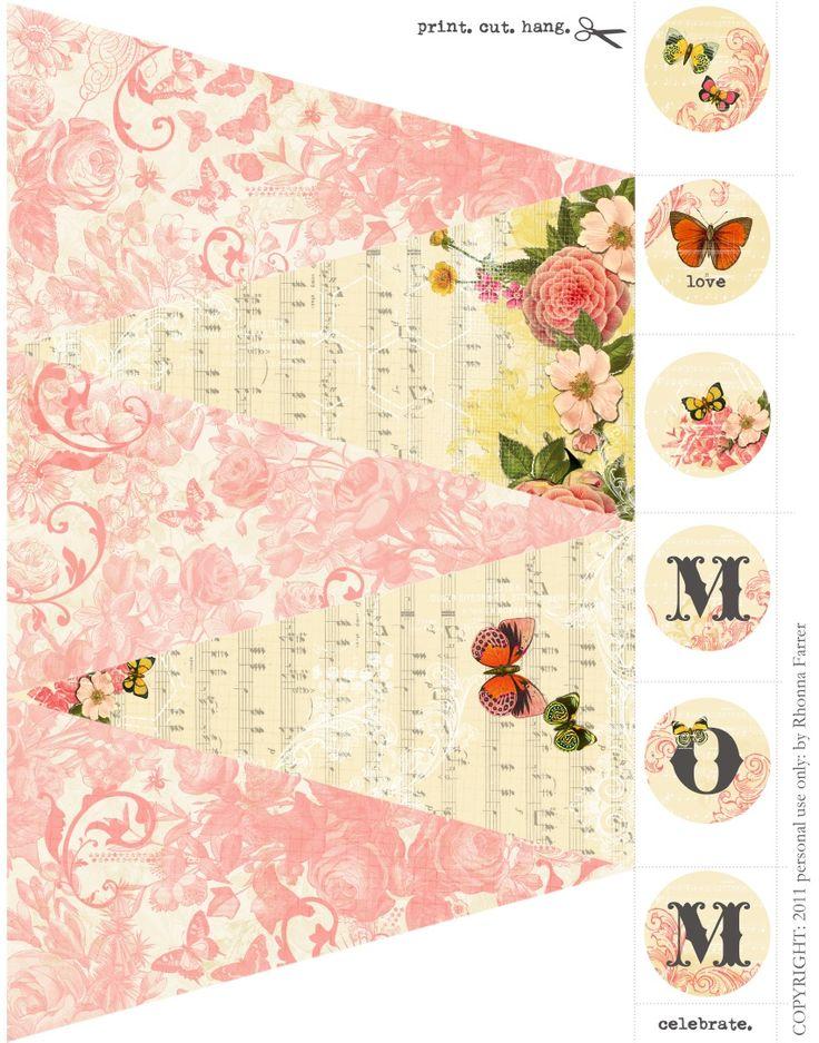 printable banner/bunting