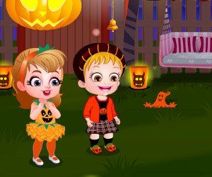 Jasmine plans to host a Pumpkin Party for Baby Hazel and her other friends, http://www.babyhazelworld.com/game/baby-hazel-pumpkin-party
