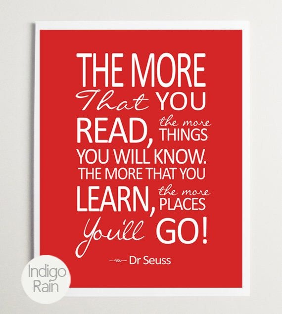Hey, I found this really awesome Etsy listing at https://www.etsy.com/listing/122990794/sale-nursery-wall-art-dr-seuss-the-more
