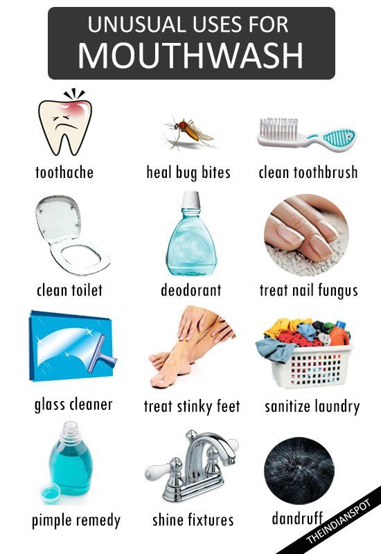 1000 ideas about mouthwash foot soak on pinterest cupcake nail art fade hair and chocolate - Unusual uses for mouthwash ...