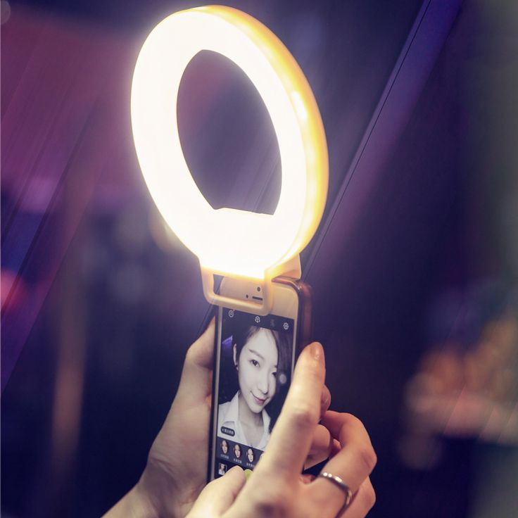 ISF Charm Eyes Smartphone LED Ring Selfie Light Night Darkness Selfie Enhancing Photography for iPhone 5 6s Plus Samsung-in Photographic Lighting from Consumer Electronics on Aliexpress.com | Alibaba Group