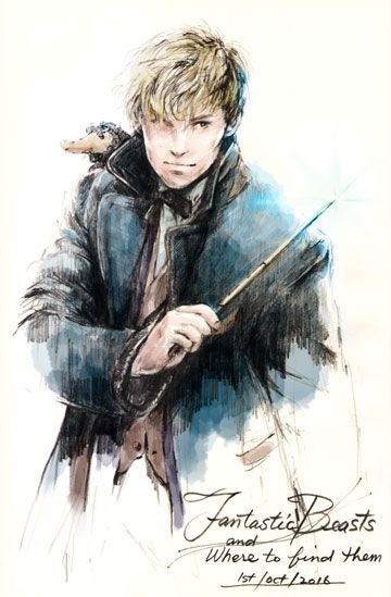 Newt Scamander - Fantastic Beasts and Where to Find Them.