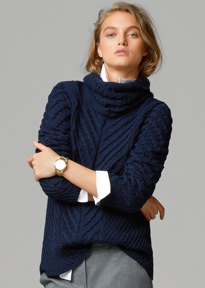 MASSIMO DUTTI WOMAN (ZARA COMPANY)NEW SEASON SWEATER  #MASSIMODUTTI #SWEATER