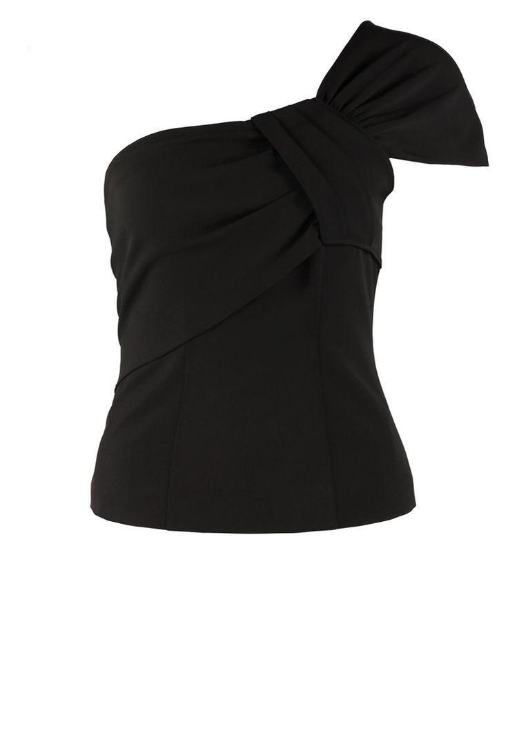 Morgan UBALI - T-shirt basic - noir - Zalando.pl