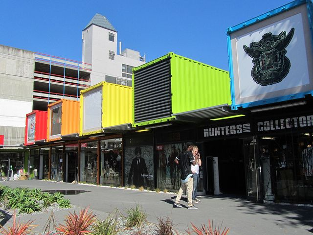 Container Town Christchurch, South Island