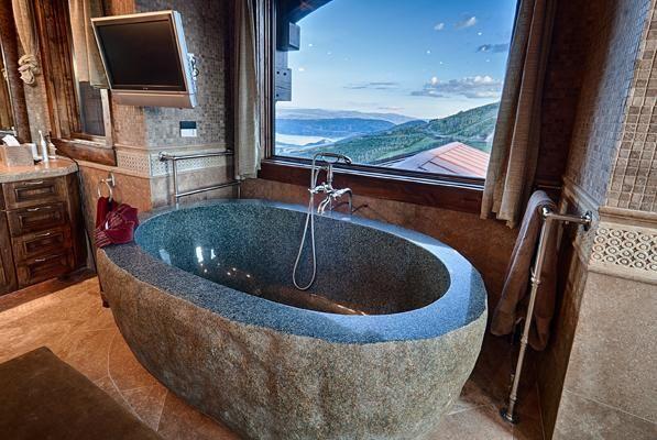 SNOWTOP AT DEER CREST   Utah Luxury Homes   Mansions For Sale   Luxury Portfolio #luxurybathtub #luxurybathrooms