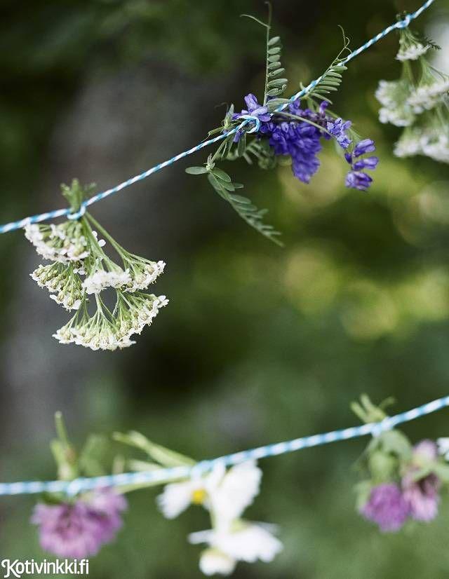 Puutarhajuhlat pihapuun alla | Kotivinkki