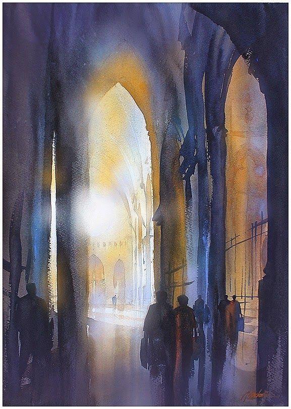 thomas w. schaller - watercolor artist                                                                                                                                                                                 Mais