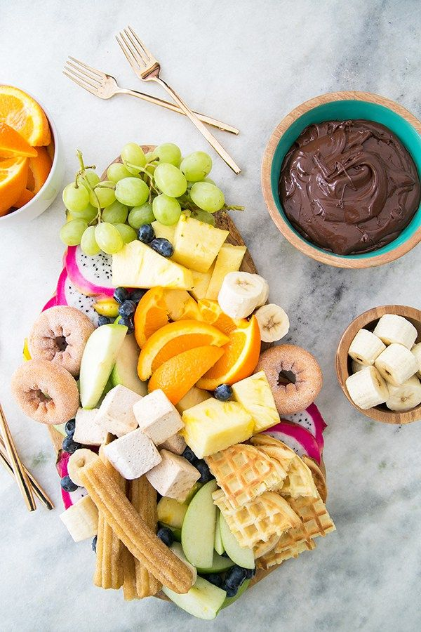 how to make chocolate fondue with fondue pot
