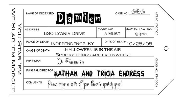 Hallowen Invitations with best invitations sample