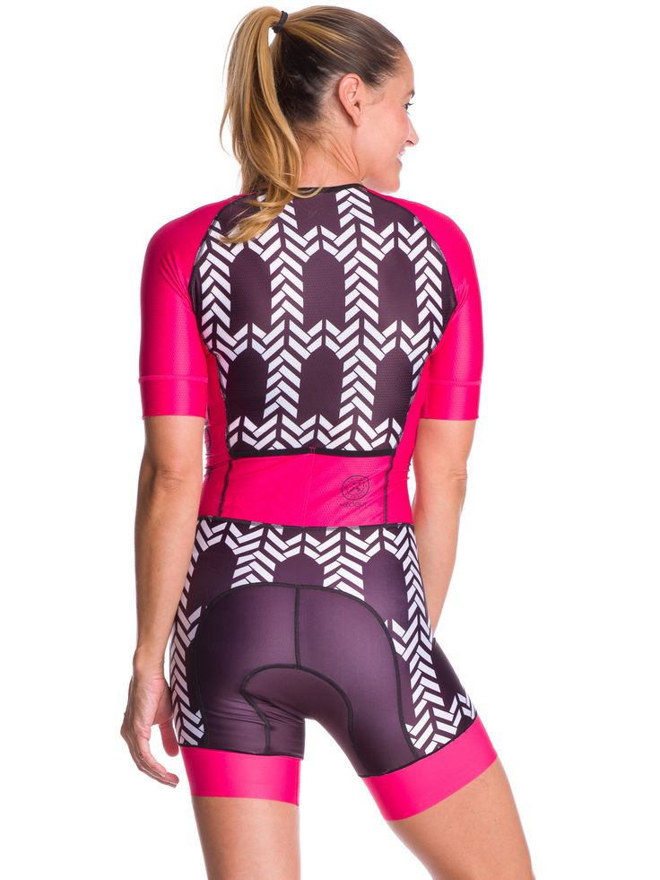 Women's Sleeved One Piece Triathlon Suit