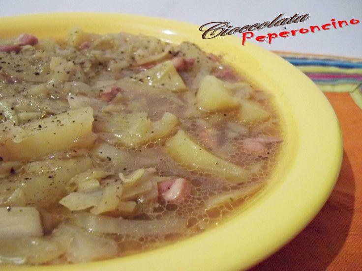 Zuppa cavolo e patate