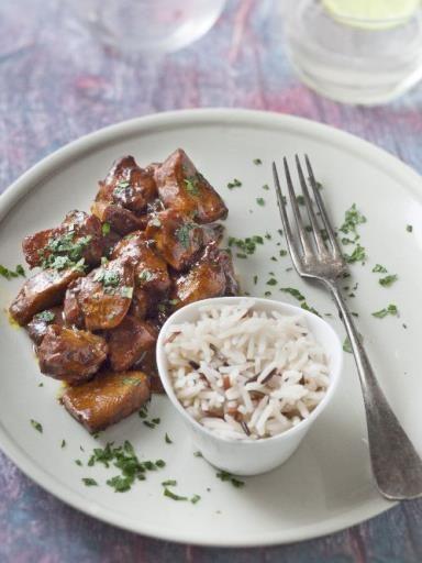 Poulet mariné au curcuma  Plus de découvertes sur Le Blog des Tendances.fr #tendance #food #blogueur