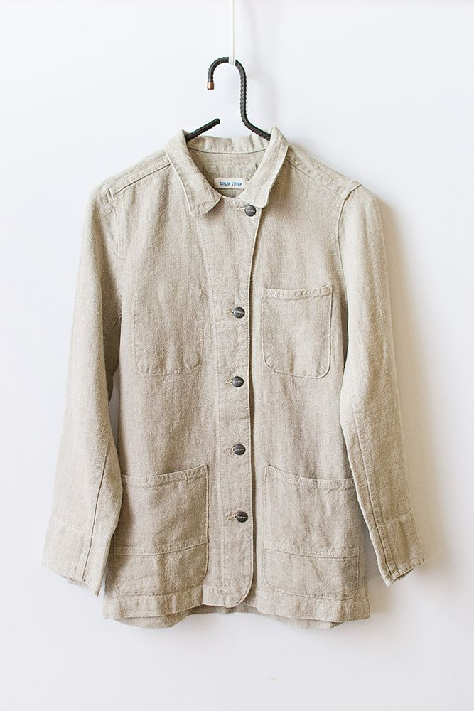 Taylor Stitch Washed Irish Linen Project Jacket [Washed Irish Linen Project Jacke] : ORN HANSEN, Vintage + American Made General Store