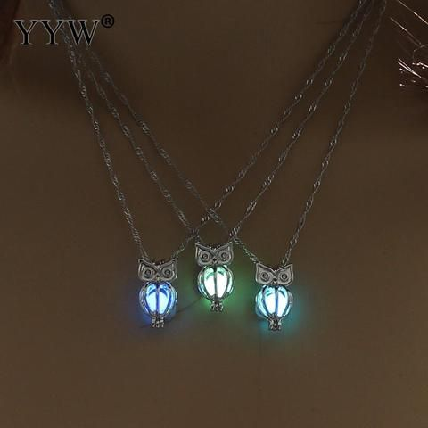 Luminous Owl Necklace
