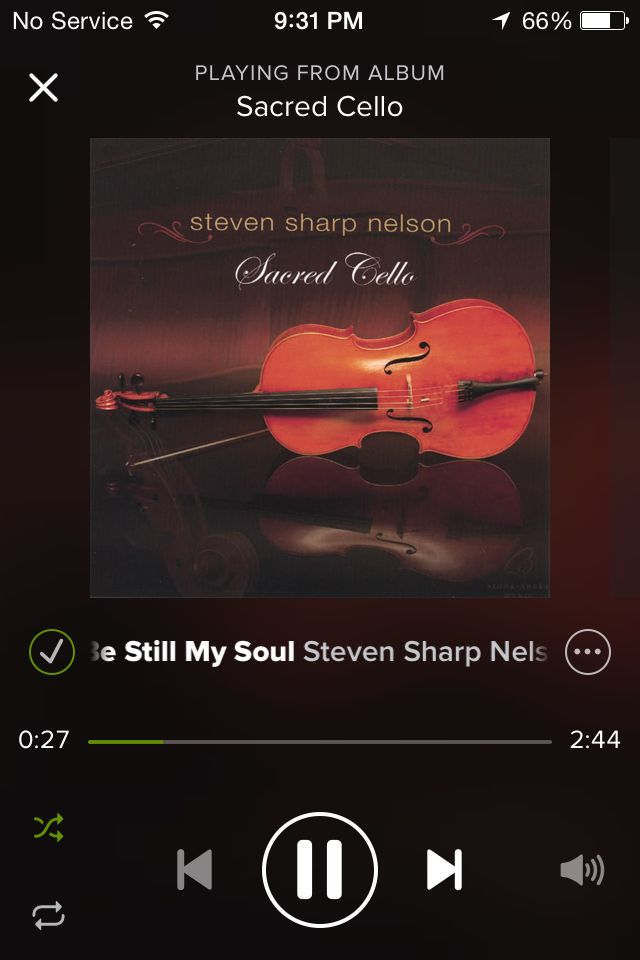 I Just Long Steven Sharp Nelson Sacred Cello On Spotify Is A Really