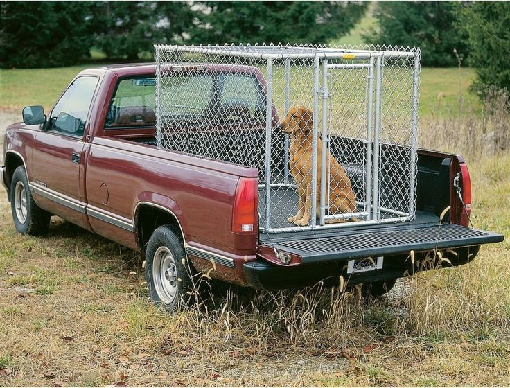 Chain Link Dog Kennel Small Outdoor 6 x 4 Feet Steel Portable Yard House Cage  #MidWestHomesforPets