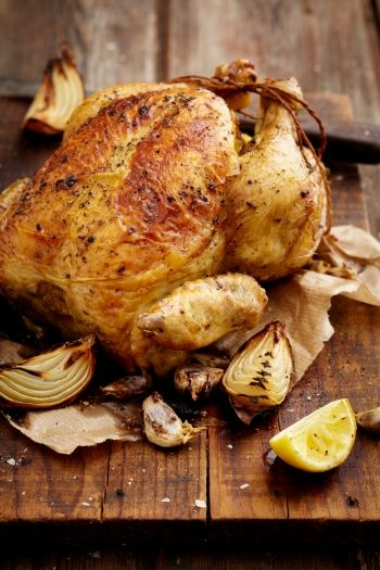 Perfectly Easy Roast Chicken and Gravy recipe.