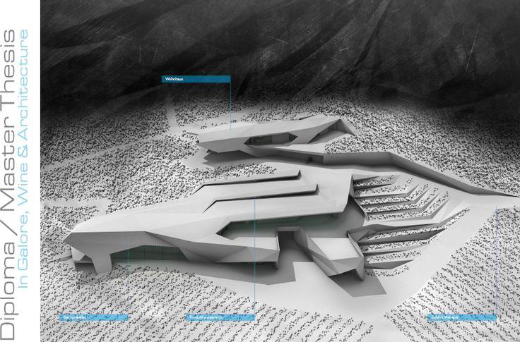 Abschlussarbeit: In Hülle und Fülle, Wein & Architektur , Sebastian Leschhorn, Technische Universität Wien - Campus Masters | BauNetz.de