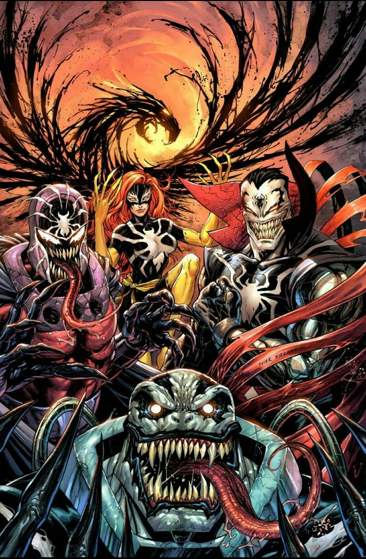 X-Men Prime #1 (2017) KRS Comics Exclusive Venomized Variant Cover by Tyler Kirkham