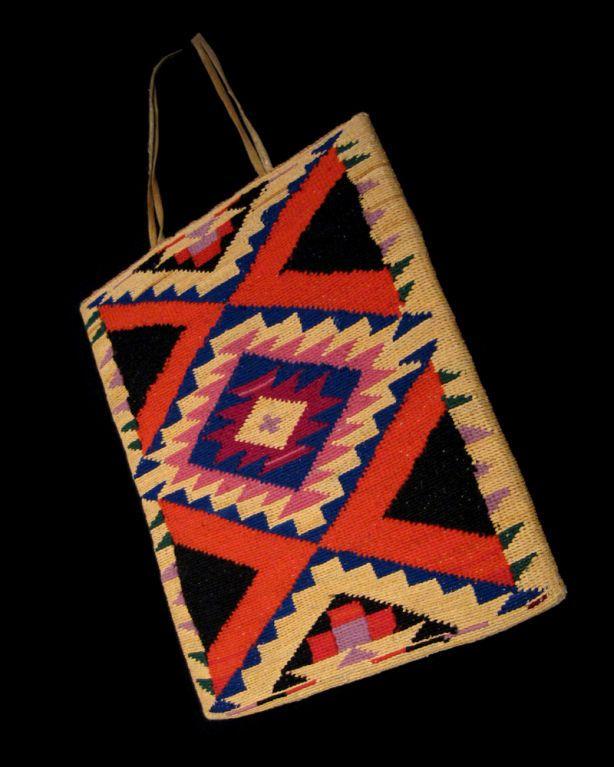 NEZ PERCE CORN HUSK BAG image 8