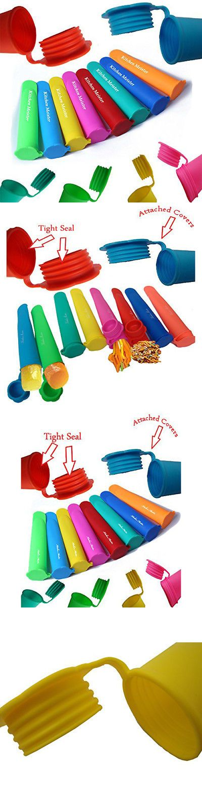 Ice Pop Molds 178056: Silicone Ice Pop Maker Tube Molds, Popsicle Molds, Set Of 10, Assorted Sale -> BUY IT NOW ONLY: $32.38 on eBay!