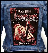 Thrash Back Patches | VENOM - Black Metal Holocaust --- Huge Jacket Back Patch Backpatch