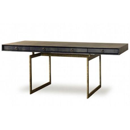 "Julian Chichester Cortes Desk Small:  59""w x 26""d x 30""h Large:  72""w x 35.5""d x 30""h"