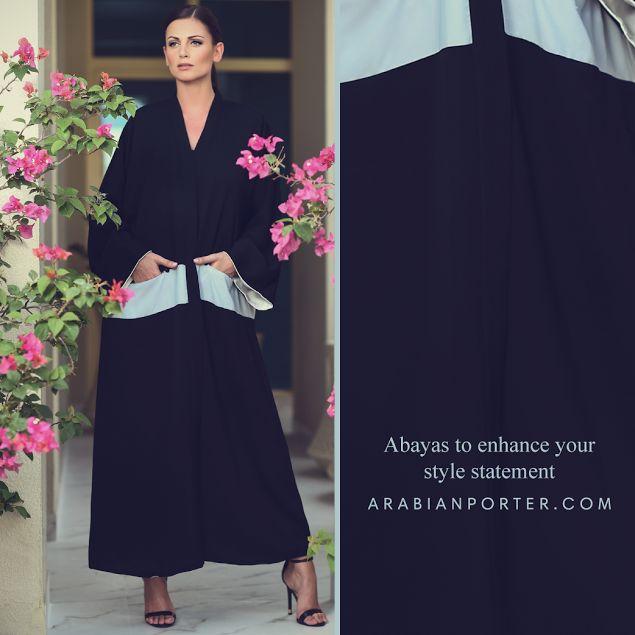 Check out our #unique #collection of #Abaya where luxury fashion meets the tradition @ arabianporter.com #fufidesign #Qatar #Doha #Dubai #Saudiarabia #Bahrain #Kuwait